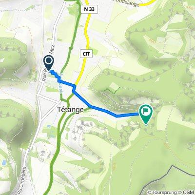 Route von Rue Pierre Schiltz 18, Kayl