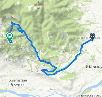 Easy ride in Angrogna