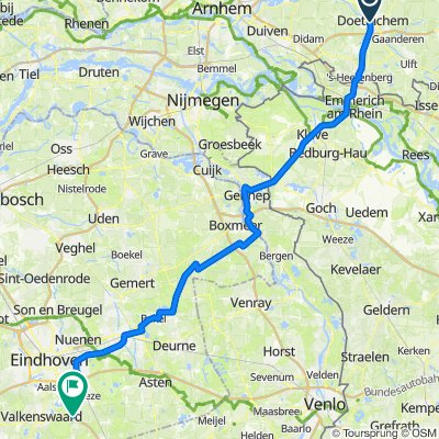 22jun20 - via Gennep Stevensbeek Bakel Helmond Eindhovensch Kanaal Geldrop Bels lijntje naar Leende