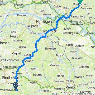 24jun20 – via Geldrop Nuenen Lieshout Beek&Donk Handel Mill Cuijk Groesbeek Kranenburg Millingen Lobith Elten Loerbeek Kilder Doetinchem