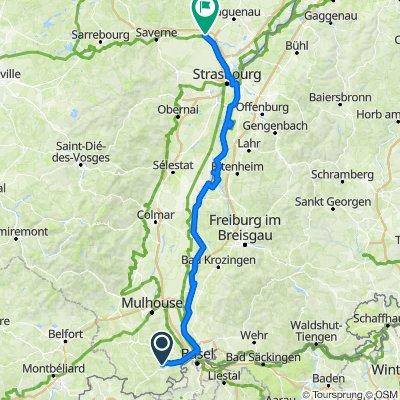 Muespach le haut - Mommenheim EV15