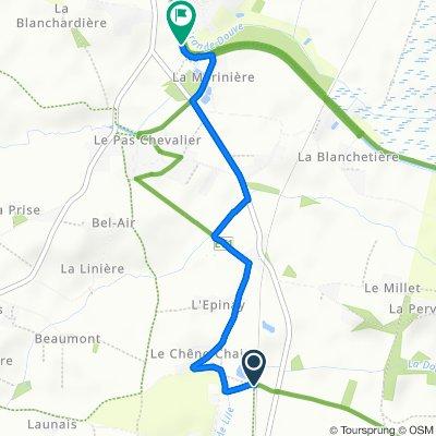 Steady ride in Nort-sur-Erdre