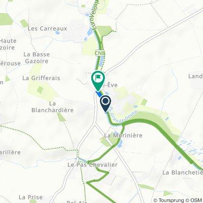 Easy ride in Nort-sur-Erdre
