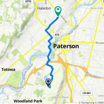 Slow ride in Paterson
