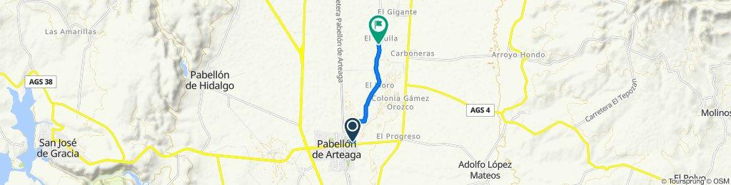 De Calle Francisco Villa 550, Pabellón de Arteaga a el águila