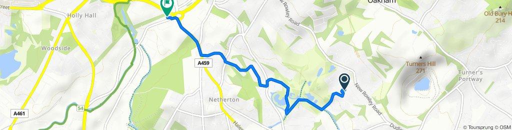 Hillfield Walk 15 to Peartree Lane 27