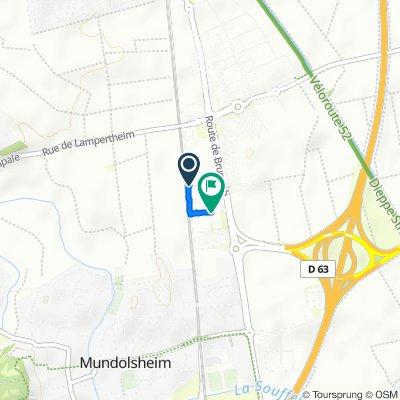 Itinéraire modéré en Lampertheim