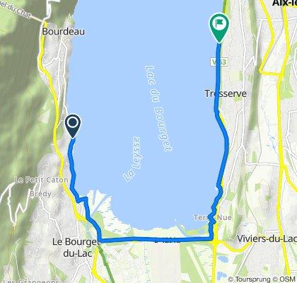 Giro a velocità lenta in Tresserve