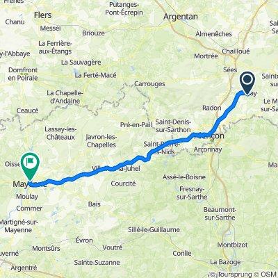 Alençon Mayenne