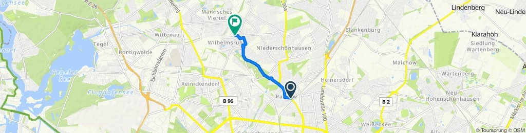 Langsame Fahrt in Berlin
