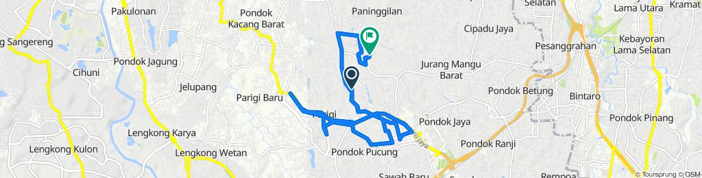 Slow ride in Pondok Aren