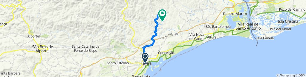 Rua Borda d`Água da Asseca 52, Tavira to EM1234