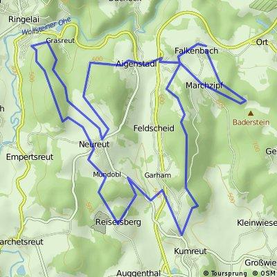 Geyersberg - Frauenstein und zurück