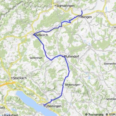 Vom Bodensee zur Donau über Meßkirch