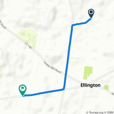 Restful route in Ellington