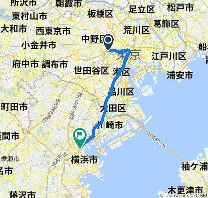Slow ride in Nishi-Ku, Yokohama-Shi