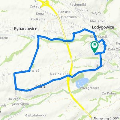 Konwaliowa 2, Łodygowice do Nowy Świat 35, Łodygowice