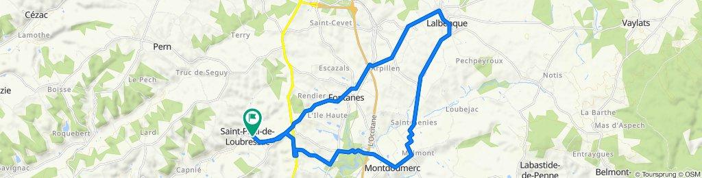 De D26, Saint-Paul-de-Loubressac à D26, Saint-Paul-de-Loubressac