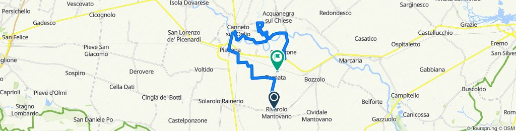 Cracking ride in Tornata