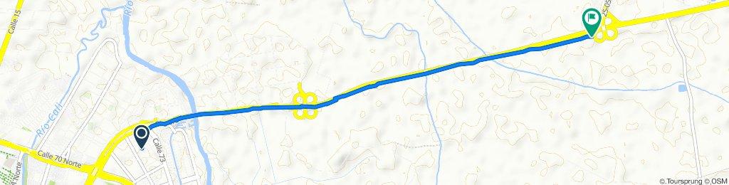 De Carrera 1a 3 72-42, Cali a Cali - Palmira