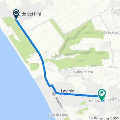 Blistering ride in Anzio