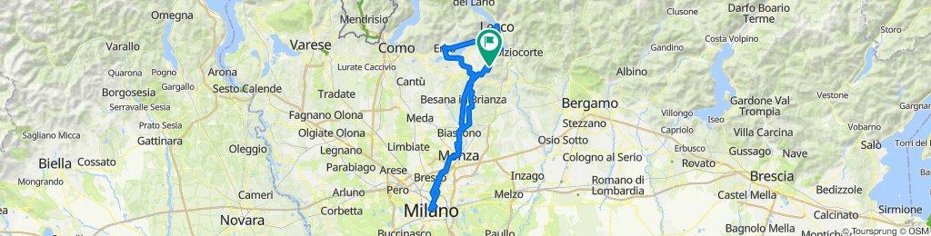 Milano Ravellino Lecco