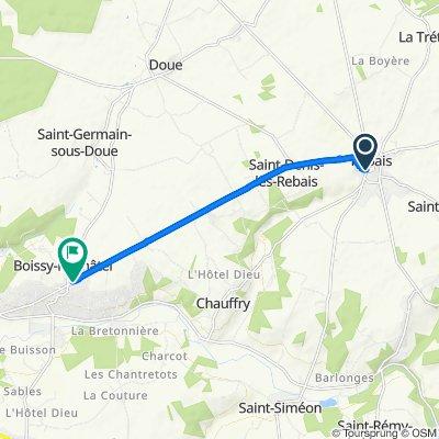 Itinéraire modéré en Boissy-le-Châtel