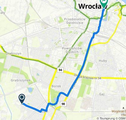 Powolna trasa w Wrocław