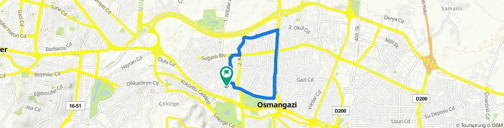 Steady ride in Osmangazi