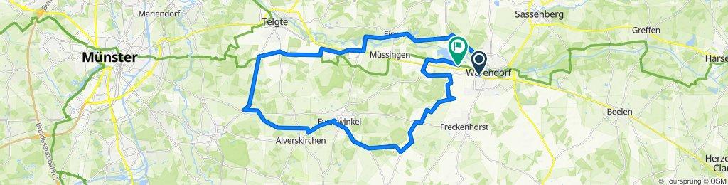 B64 20, Warendorf nach Neuwarendorf 27, Warendorf