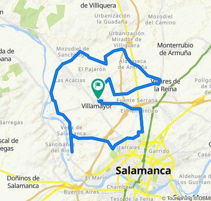 Restful route in Villamayor