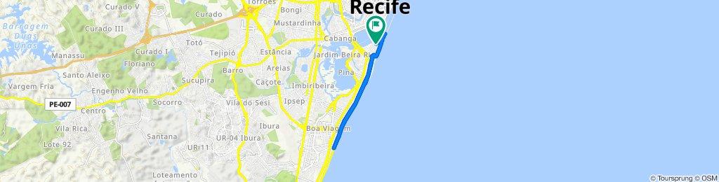De Rua Badejo, 401, Recife a Rua Badejo, 402, Recife