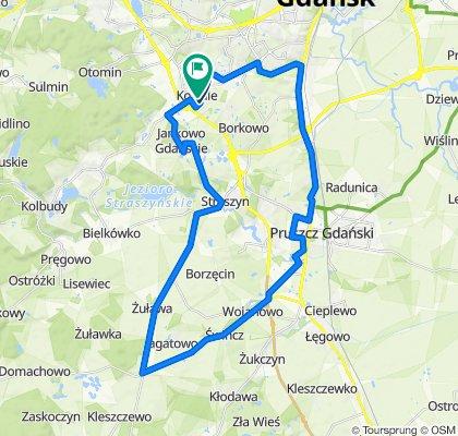 Sporty route in Kowale