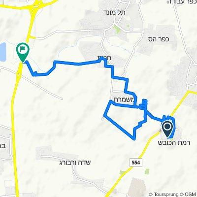 Unnamed Road, Ramat HaKovesh to Hadarim Interchange