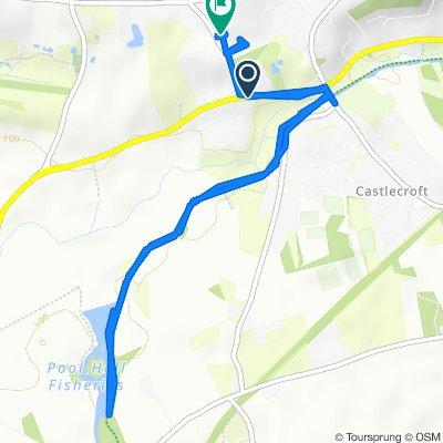 Rodna Cottage, Bridgnorth Road, Wolverhampton to 17 Tinacre Hill, Wolverhampton