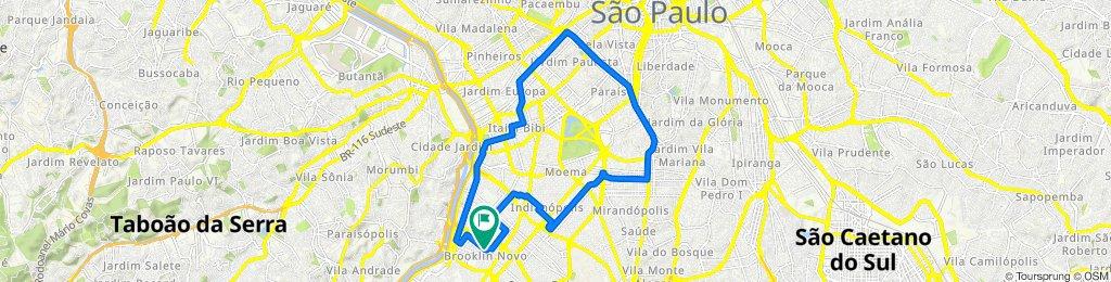 Moderate route in São Paulo