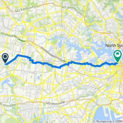 Easy ride in Sydney