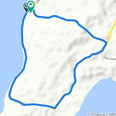 Slow ride in Pulau Labuan