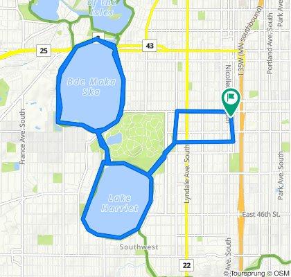 1st Avenue South 3624, Minneapolis to 1st Avenue South 3618, Minneapolis