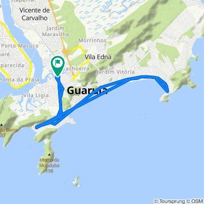 De Travessa das Magnólias, 65, Guarujá a Travessa das Magnólias, 97, Guarujá