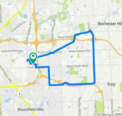 2516 Crofthill Dr, Auburn Hills to 2516 Crofthill Dr, Auburn Hills