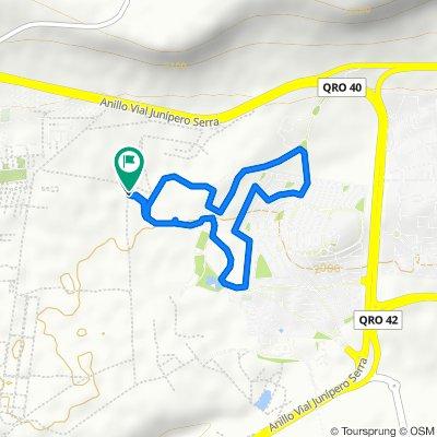 Easy ride in Santiago de Querétaro