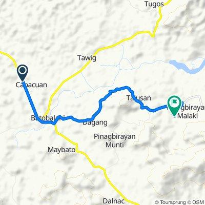 paracale route