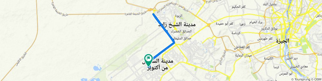 Street 9 15, First 6th of October to Street 9 15, First 6th of October