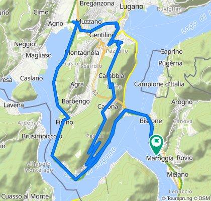 Agno Carona 43km