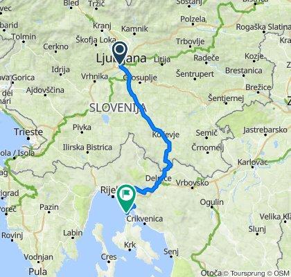 Ljubljana - Krk