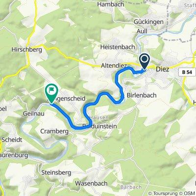 Moderate route in Langenscheid