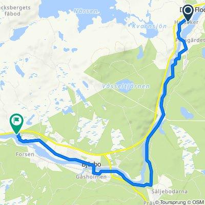Finn Pers väg 3, Dala-floda to Björbovägen 149, Björbo