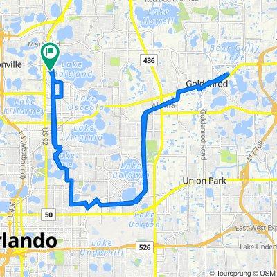 Easy ride in Maitland