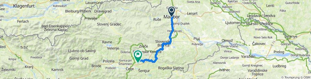 Pobreška cesta 2–7, Maribor to Razgor 5, Vojnik